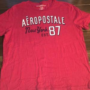Men's Aeropostale Magenta T-Shirt